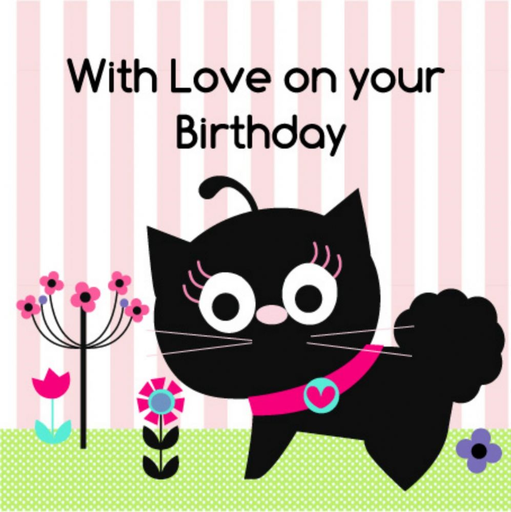 Greeting Card Greeting Card UK birthday greeting cards – Birthday Cards Cats